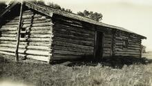 Photograph of Jake Hoover's Cabin