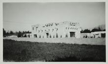 Photograph of Charles M. Russell's home and studio in Great Falls, Montana