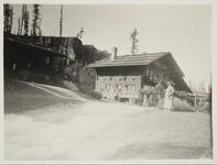 Photograph of Lodge on Lake McDonald