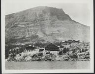Photograph of Lodges on Lake McDonald