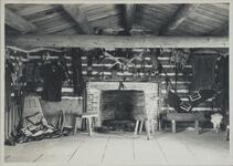 Interior of Charles M. Russell's Studio