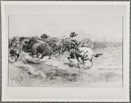 A Buffalo Hunt