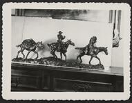 Bronze of Two Cowboys and Pack Horse