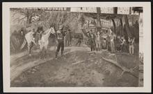 Man Holding up Stagecoach