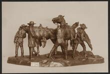 Trappers with Horses