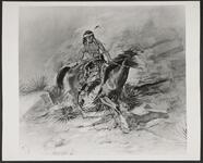 Indian Warrior on Horseback