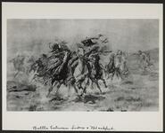 Battle between Sioux and Blackfeet