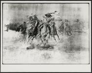 Battle Between Sioux and Blackfeet