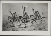 Mounted Indian Warriors