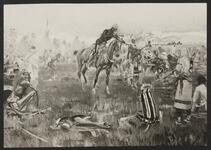 Cavalry Pointing Rifle Indian