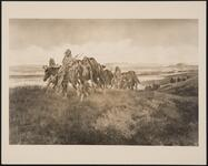 Indians Crossing Plains