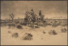 Mounted Indians