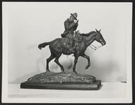 Charles .M. Russell on Horse