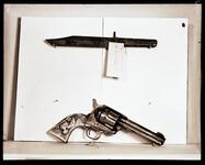 Bowie Knife and Pistol