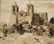 St. Francis Mission - Ranchos de Taos