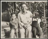 N. Fechin and two Children