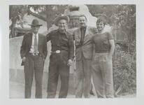 Homer Britzman, Con Price, with Two Men