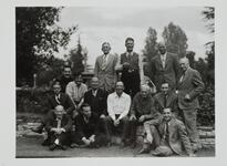 Homer Britzman and Group of Men