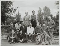 Homer Britzman and Large Group of Men