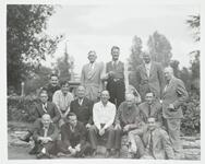 Group of Unknown Men with Homer Britzman