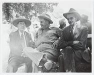 Homer Britzman with Two Unknown Men
