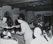 Homer Britzman with Group of Unknown Men