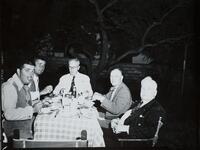 Unknown Men Eating