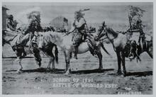 Four Unknown Men on Horses