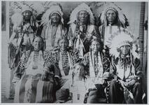 Group of Unknown Native American Men and Women