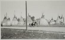 Group of Tipis with Unknown People