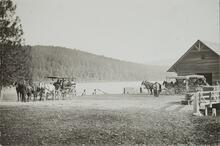 Wagon Tours at Glacier Lake