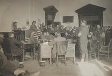 Military Courtroom Scene