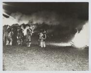 Indian Men near Bonfire