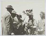 Men Handling a Peace Pipe