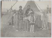 Family in Front of Tipi