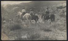 Men and Women on Horseback