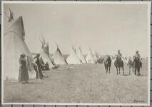 People with Tipis
