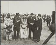 Group of People at Memorial