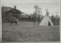 Large Building and Tipi