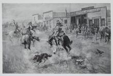 Western Town Scene