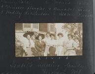 Six Women Standing near House