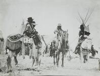 Indian Men on Horses