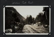 Car on Glacier Park Road