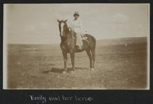 Emily Taylor on Horse