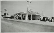 Service Station in Hieleah, Florida