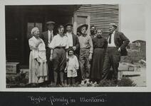 Taylor Family in Montana