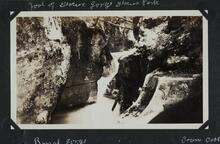 Foot of Glacier Gorge, Glacier Park
