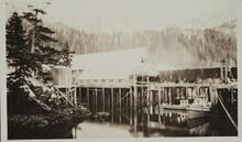 Lodge on Stilts in Lake