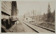 Railroad Tracks and Boxcars