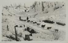 Dogsled and Two Men